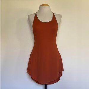 Geren Ford silk tank cover up dress